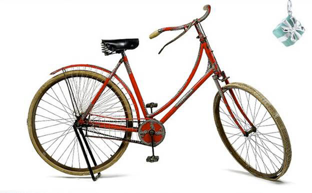 1890 Tiffany and Company Bicycle