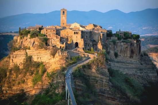Мертвый город в Италии
