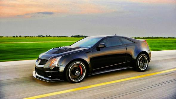 Hennessey VR1200 Twin Turbo Cadillac CTS-V Coupe