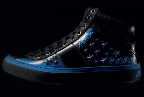 Кроссовки Jimmy Choo Belgravia High Tops & Star Studded