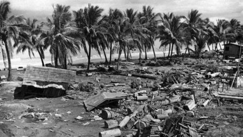 Август 1976, залив Моро