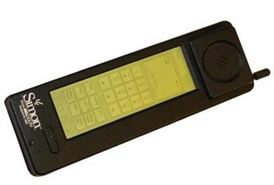самый первый сенсорный телефон