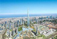 Высочайшее здание в Дубае - фото