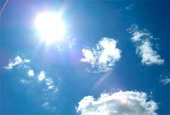 солнце и небо