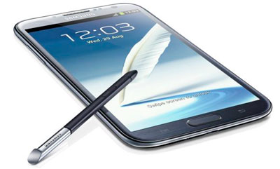 3.	Samsung GALAXY Note II 16Gb