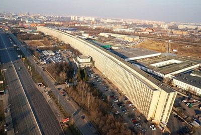 Самый длинный дом в Москве