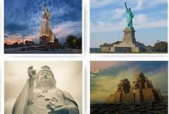 Огромные статуи